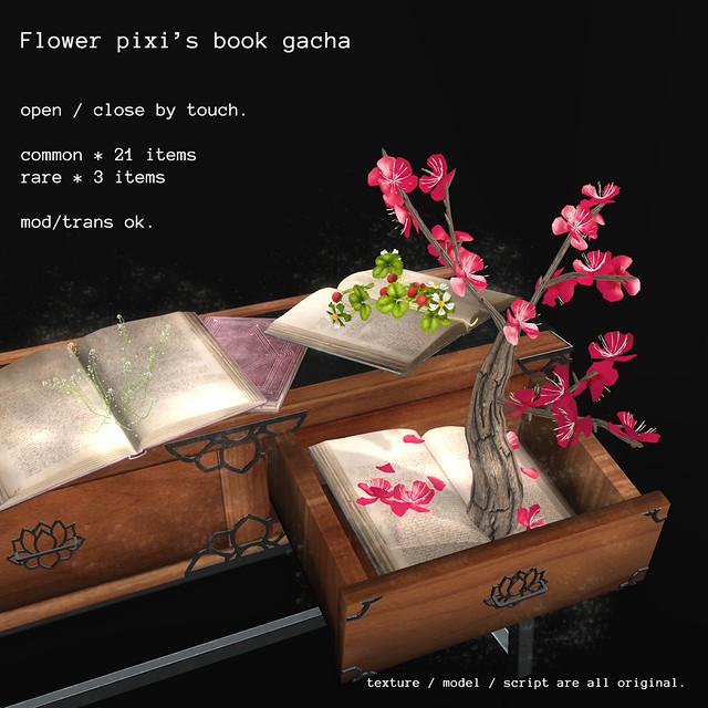 *NAMINOKE*Pixi's Books Gacha
