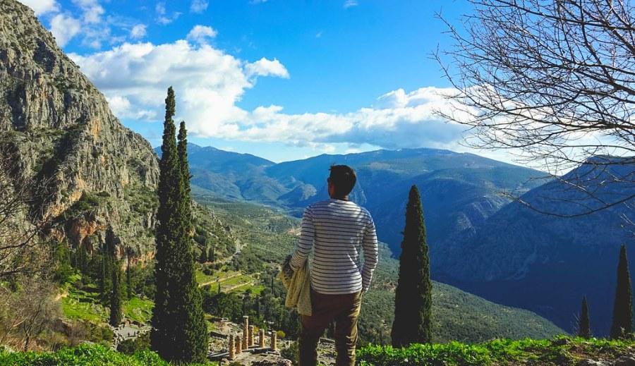 Delphi Mount Parnassus Greece (25 of 26)
