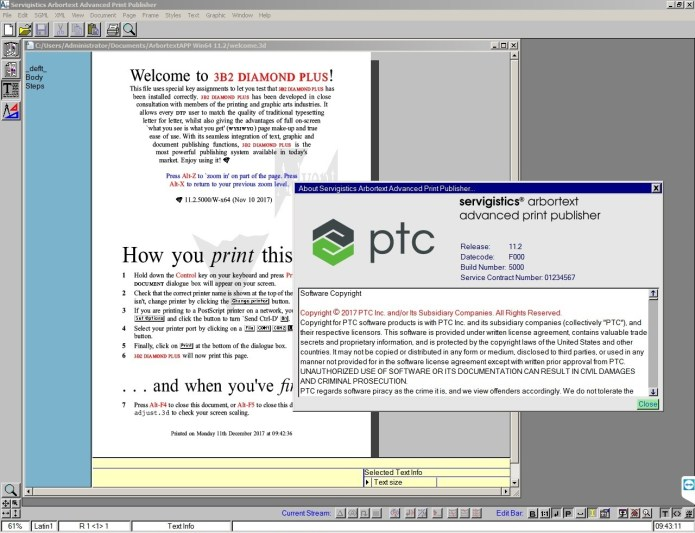 Working with PTC Arbortext Advanced Print Publisher 11.2 F000 full