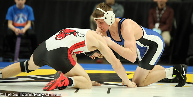 132 - Tanner Paulson (Kasson-Mantorville) over Jordan Wolter (Fairmont-Martin County West) Dec 3-1. 180301EMC4033