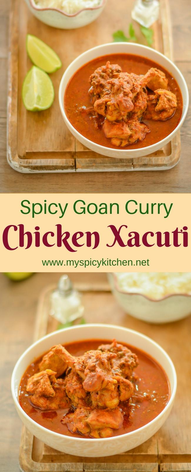 Chicken Xacuti