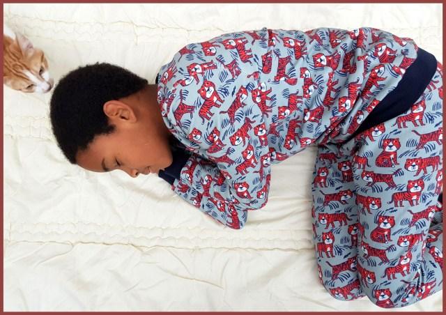 tijger pyjama 1