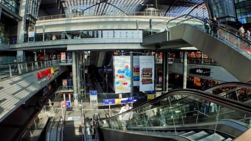 Berlin Central Station Hauptbahnhof