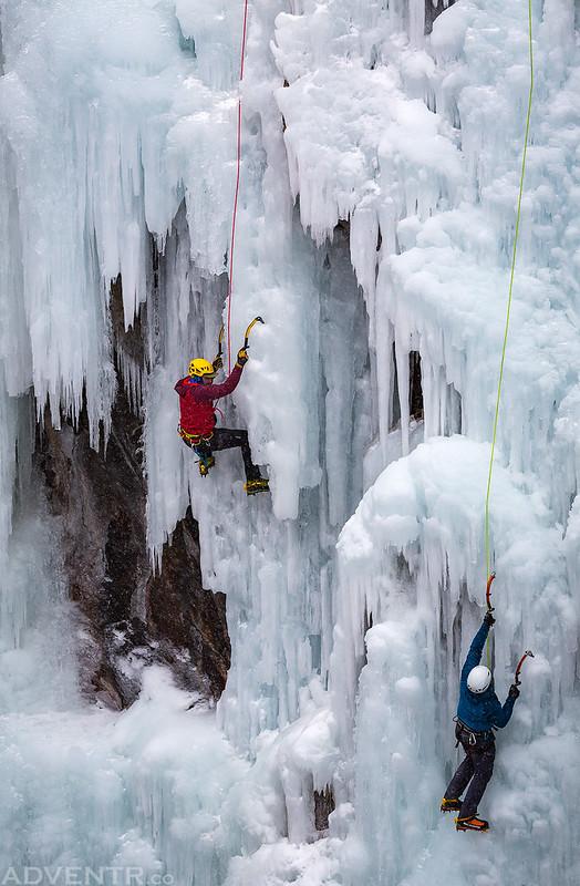 Two Ice Climbers