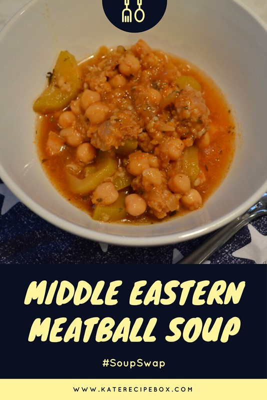 Middle Eastern Meatball Soup