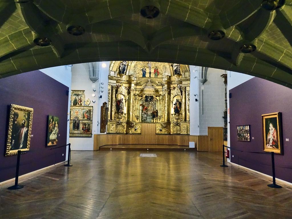 Nave capilla del antiguo hospital de Nuestra Señora de la Misericordia Museo de Navarra 01