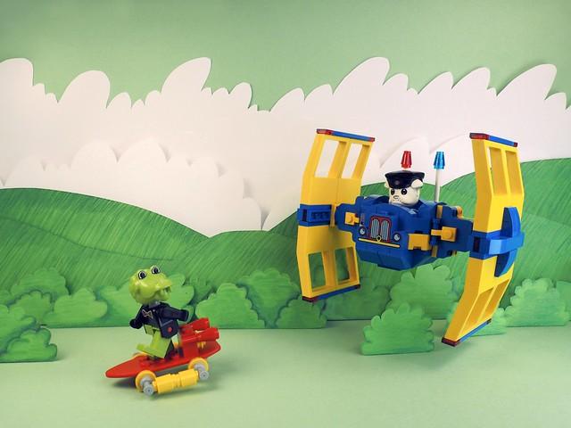 LEGO TIE Fighter Fabuland