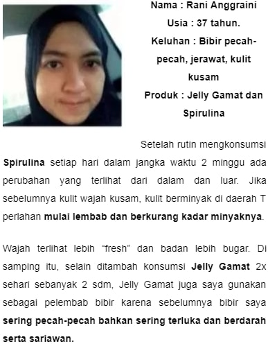 keampuhan jelly gamat