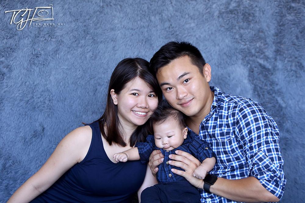 Tan Genghui Goh Yixuan Family Photo