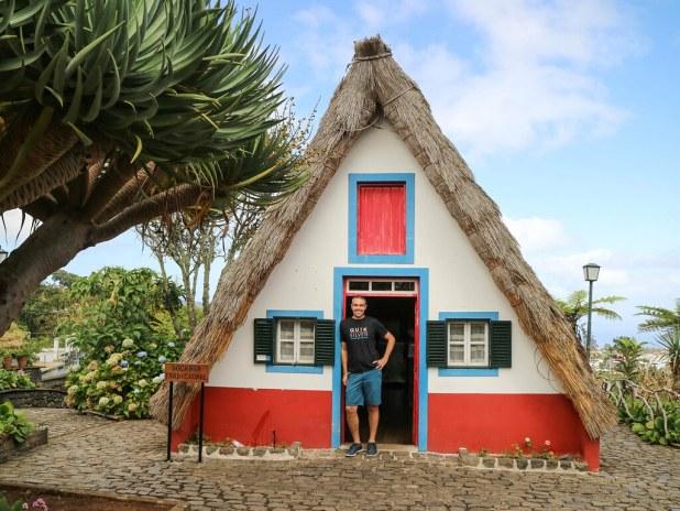 Casas tradicionales de Madeira