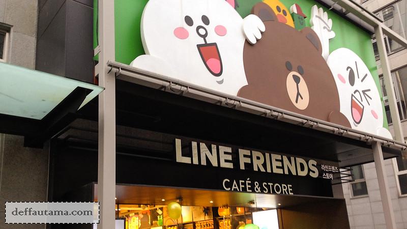 5 hari di Seoul - Line Cafe 1