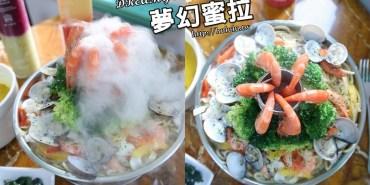 台南美食 超浮誇系美食來囉~!人氣夢幻蜜拉二店新開幕!海鮮吊蝦鍋要來攻佔你的視覺感。「夢幻蜜拉 dreamy miracle 北門店」