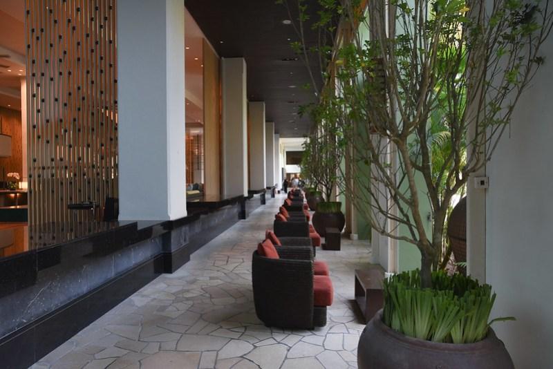 lobby of parkroyal penang resort