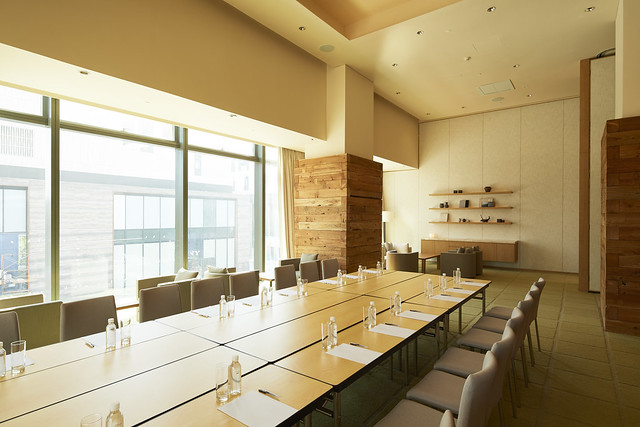 MUJI HOTEL SHENZHEN Meeting Room无印良品酒店·深圳_会议室