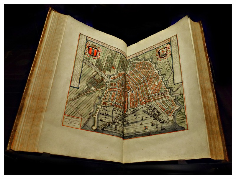 Map of Amsterdam from 1664