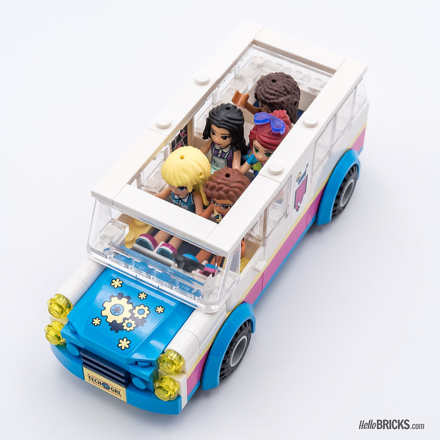 REVIEW LEGO Friends 2018 - LEGO 41333 Olivia's Mission Vehicle 2