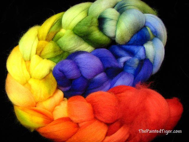 Blended Rainbow Polwarth