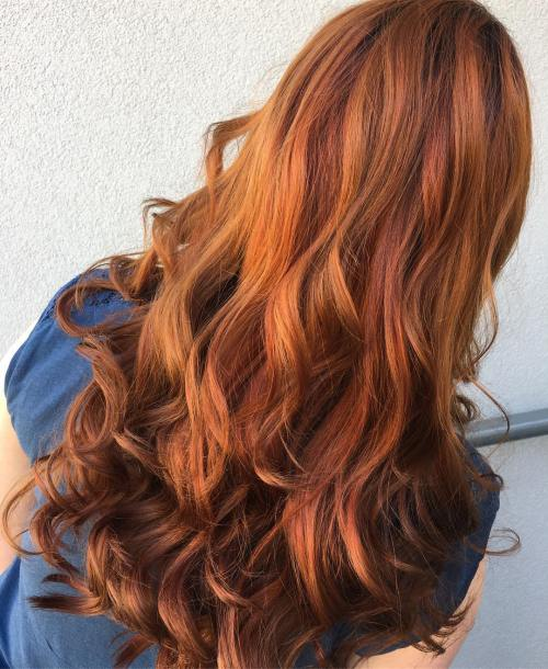 Burnt Orange Hair Color On Natural Hair