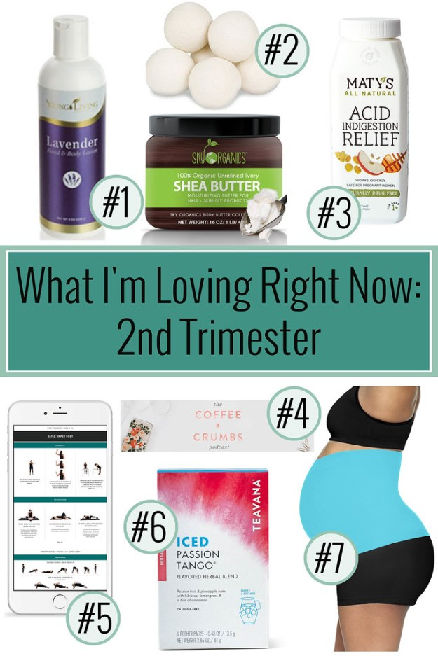 What I'm Loving Right Now- 2nd Trimester