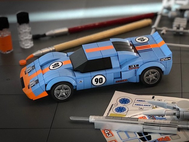 Ford GT40 Gulf version