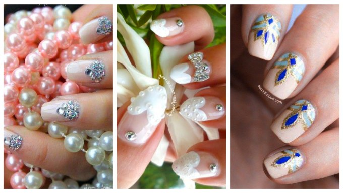 Top 20 Nails Decorated For Brides 2018 Daneloo
