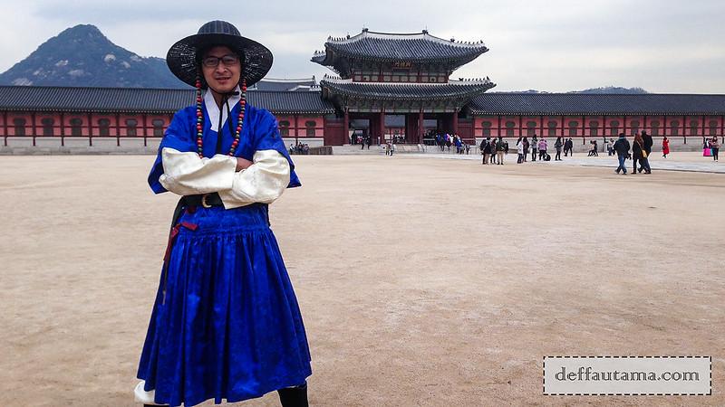 5 hari di Seoul - Kostum Prajurit