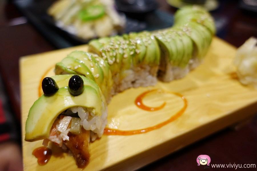 中正藝文特區,創意卷壽司料理,哇爽,平價日式料理,桃園美食,美式壽司,鍋物 @VIVIYU小世界