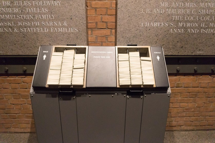 Select an Identification Card of Someone Who Was Effected by the Holocaust, U.S. Holocaust Memorial Museum.