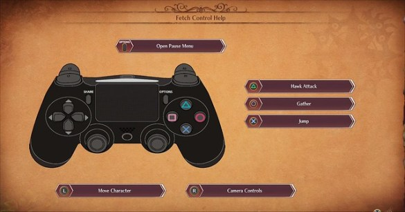 Seven Deadly Sins Knights of Britannia - Fetch Quest Controls