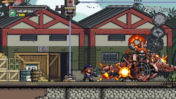 Mercenary Kings - Boss battle
