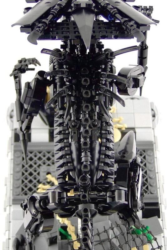 Xenomorph Queen Build Any Brick