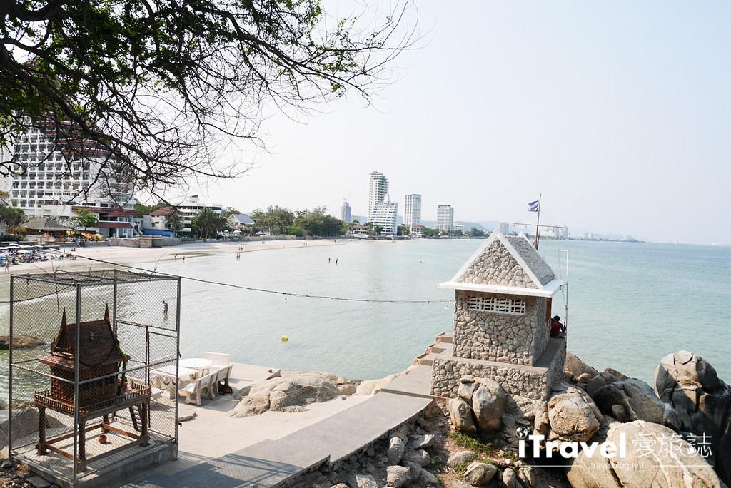 华欣景点推荐 筷子山海滩Khao Takiab beach (10)
