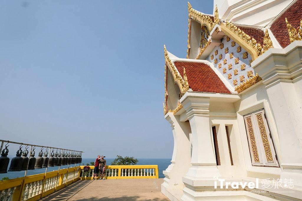華欣景點推薦 考佬寺Wat Khao Takiap (23)