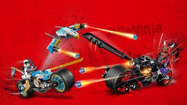 REVIEW LEGO 70639 Street Race of Snake Jaguar