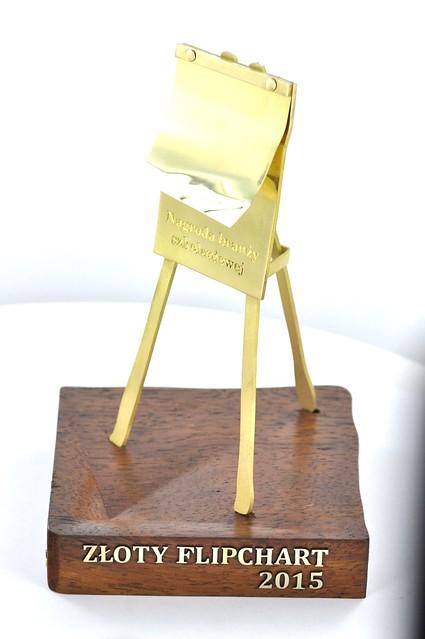 Statua PIFS wykonana z mosiądzu