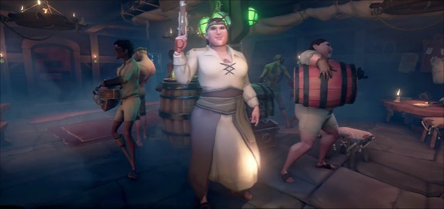 Sea of Thieves - Création de personnage