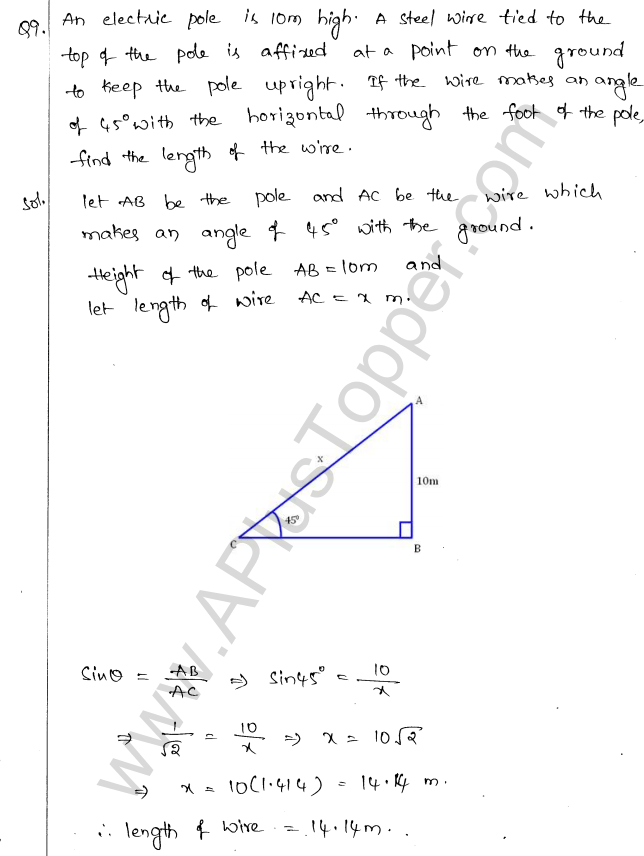 ml-aggarwal-icse-solutions-for-class-10-maths-chapter-21-heights-and-distances-8