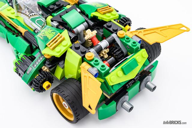 REVIEW LEGO 70641 Ninja Nightcrawler