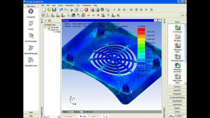 Working with Ansys Design life 6.0 full license