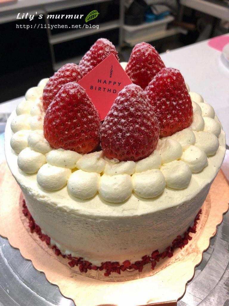 圖說:Z Dessert的草莓蛋糕,非常好吃!