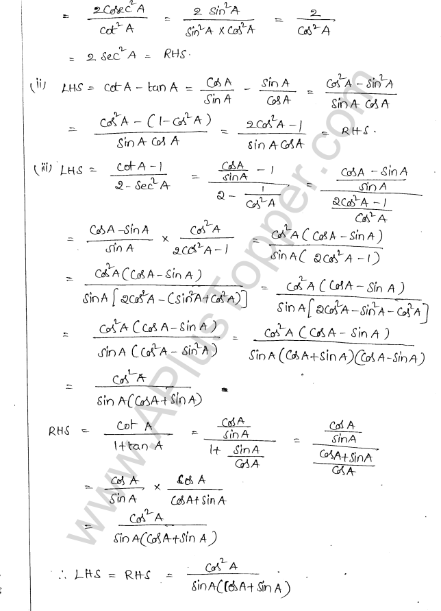 ml-aggarwal-icse-solutions-class-10-maths-ch-19-trigonometric-identities-5