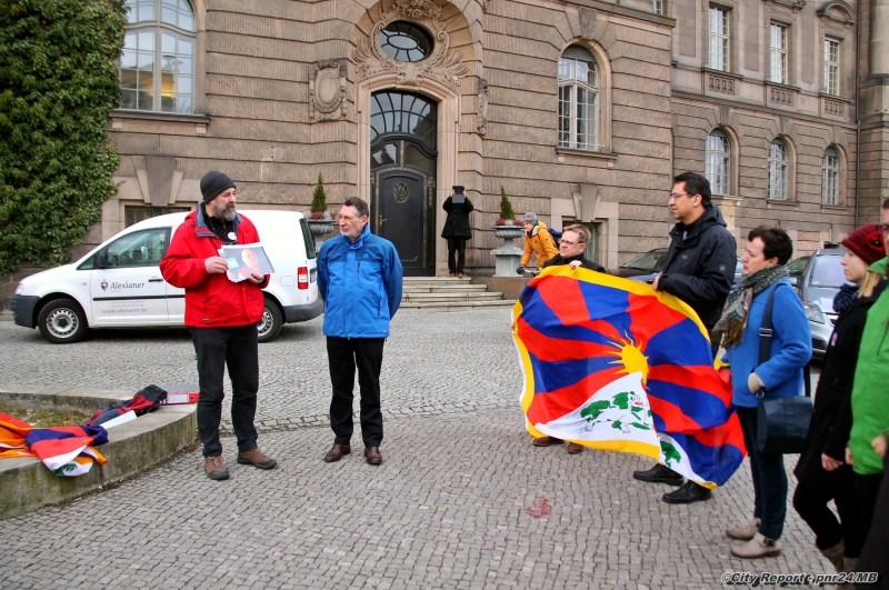 Landeshauptstadt Potsdam zeigt Flagge für Tibet