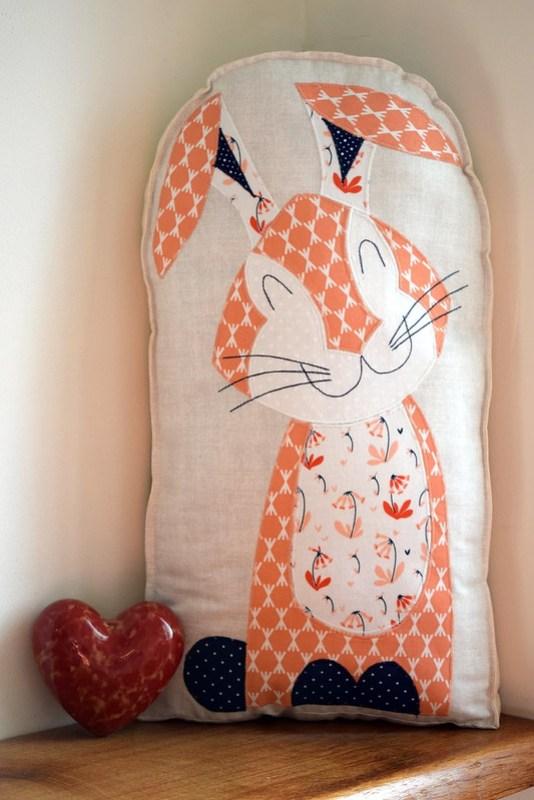 Harriet Hare Cushion