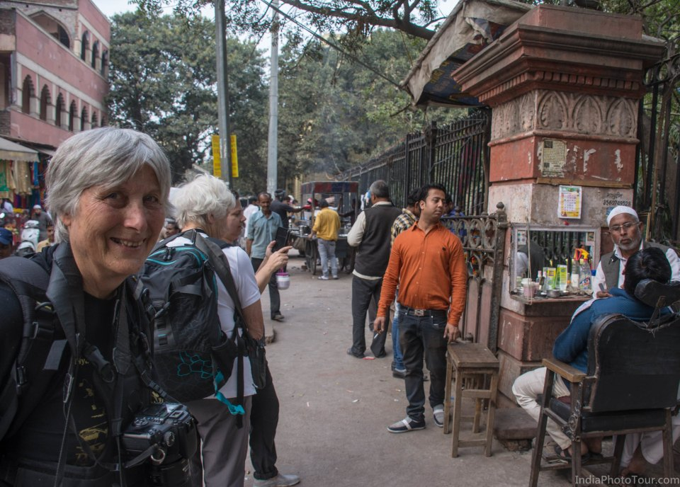 Walking through Chandni Chowk