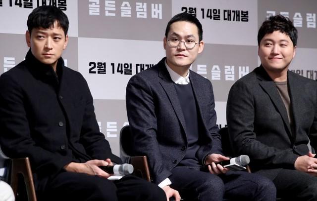 Gang Dong-won Kim Sung-Kyun and Kim Dae-Myung