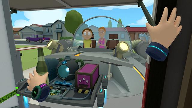 Rick and Morty Virtual Rick-ality