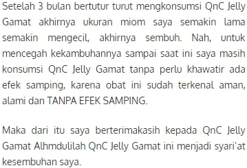 qnc jelly gamat Obat PCOS Agar Cepat Hamil paling ampuh