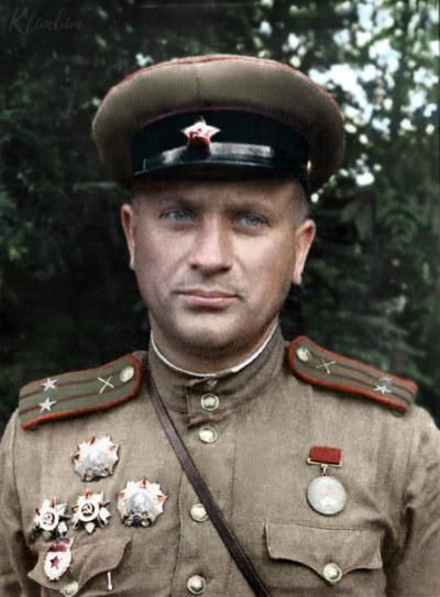 Guard's Lieutenant Colonel Nikolai Nevsky | Гвардии подполковник Невский Николай Леонтьевич