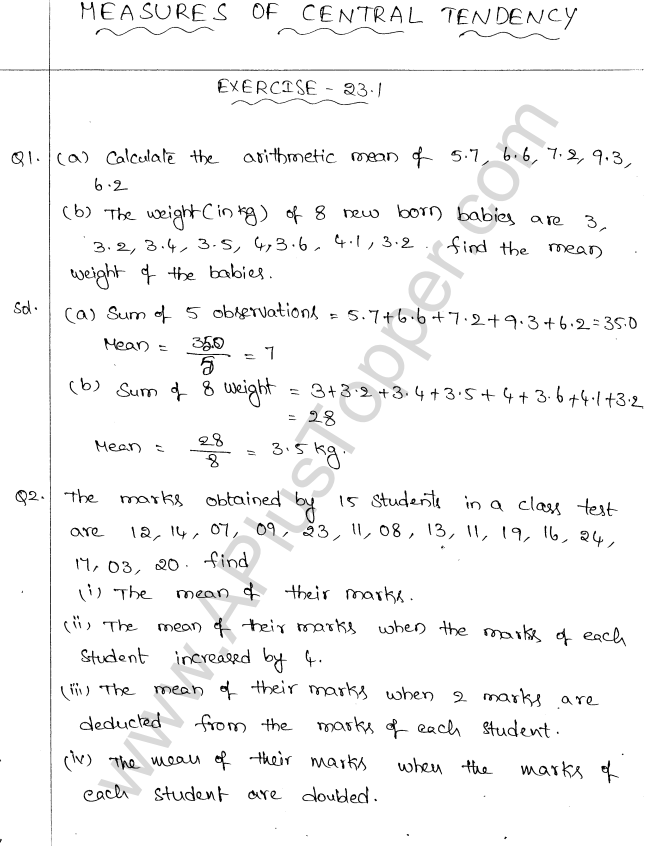 ml-aggarwal-icse-solutions-for-class-10-maths-chapter-23-measures-of-central-tendency-1