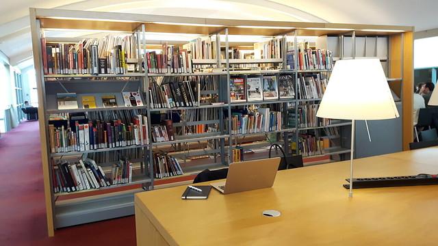 werkplek bibliotheek